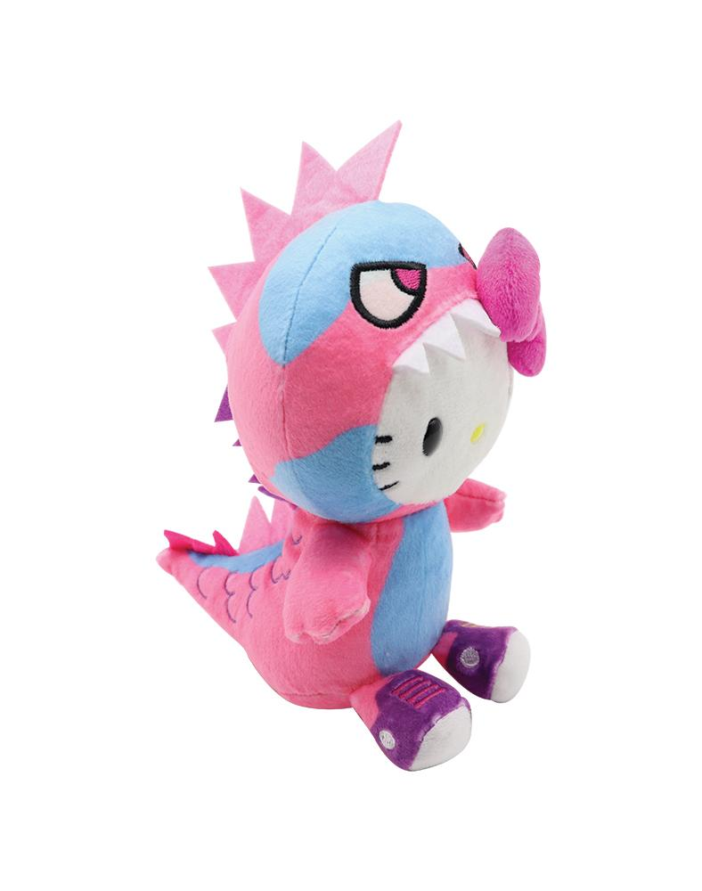 tokidoki x Hello Kitty Sky Blue Bean Bag Plush Kaiju Side View