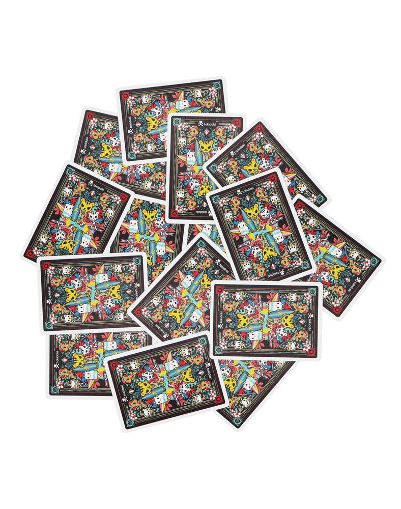 tokidoki Bicycle® Playing Cards - Tropical (Black) Card Backs