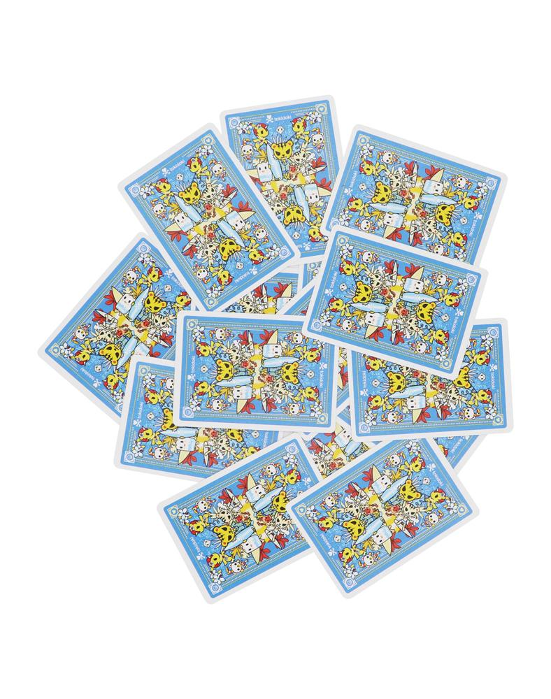 tokidoki Bicycle® Playing Cards - Tropical (Blue) Card Backs