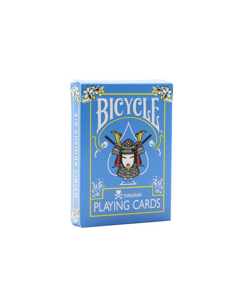tokidoki Bicycle® Playing Cards - Tropical (Blue) Front