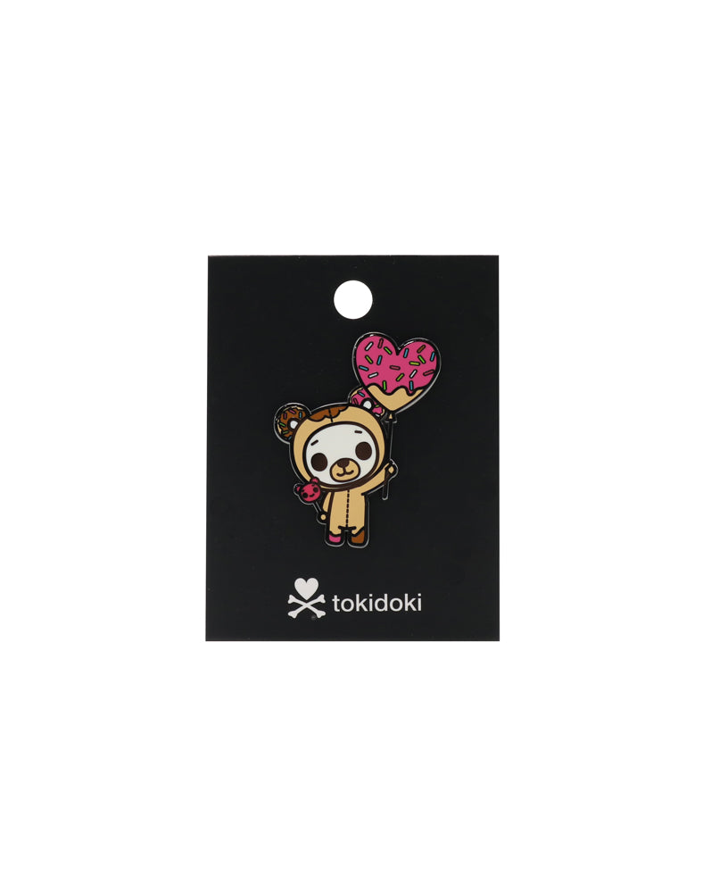 tokidoki Biscotti Enamel Pin with Backing