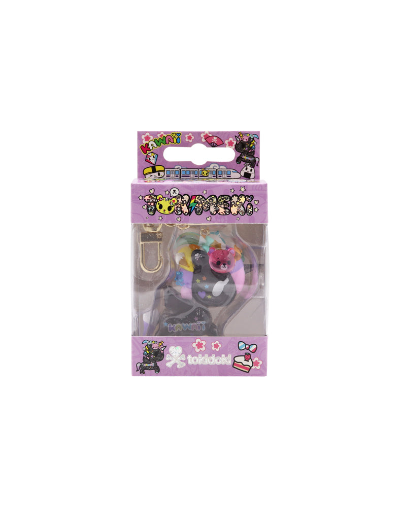 Tokimeki Keychain (Online Exclusive) - Black - Boxed