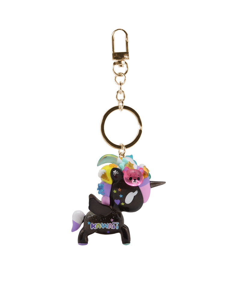 Tokimeki Keychain (Online Exclusive) - Black Side Shot