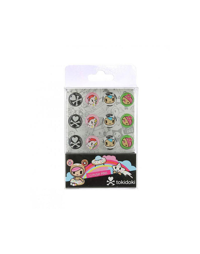 tokidoki Push Pins Packaging