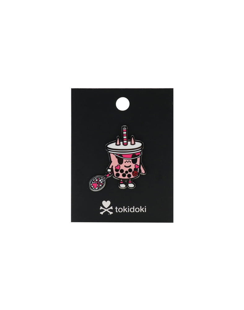 tokidoki Boba Betty Enamel Pin Backing
