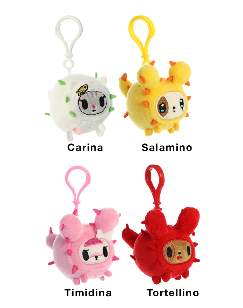 Cactus Friends Plush Clip-On Blind Bag Series 1 Roster