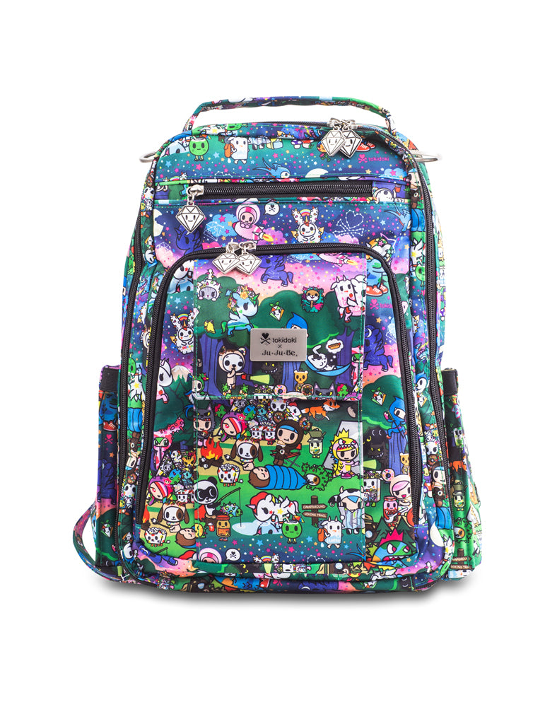tokidoki x Ju-Ju-Be Be Right Back Diaper Bag Camp Toki Front
