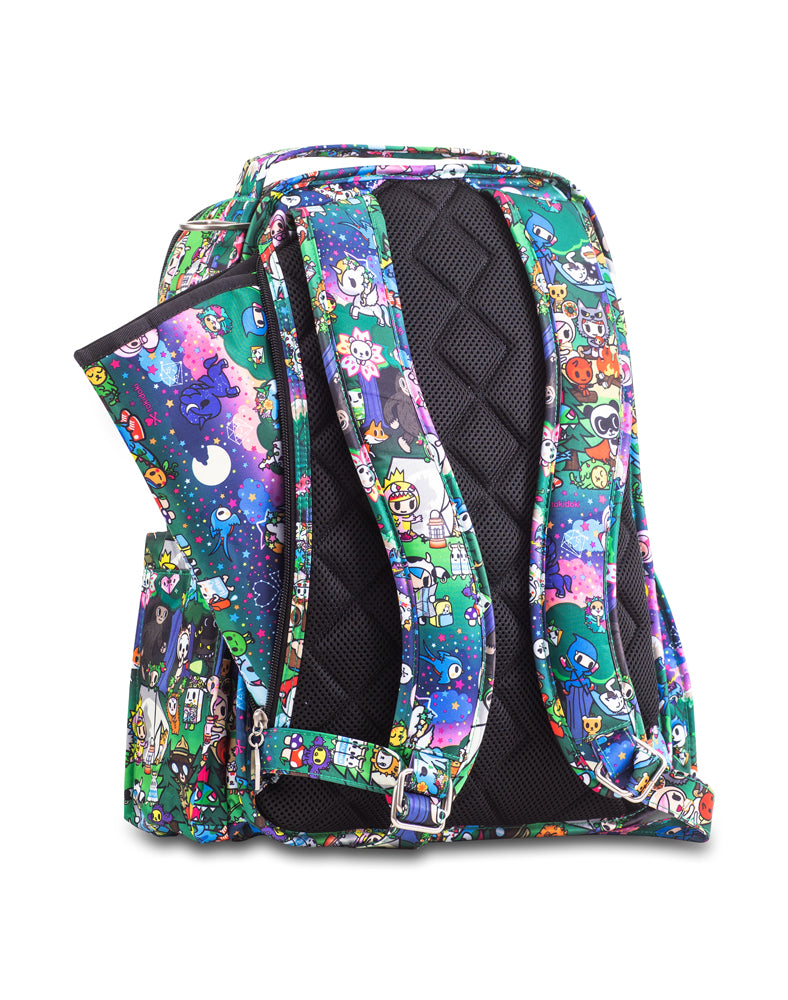 tokidoki x Ju-Ju-Be Be Right Back Diaper Bag Camp Toki Back