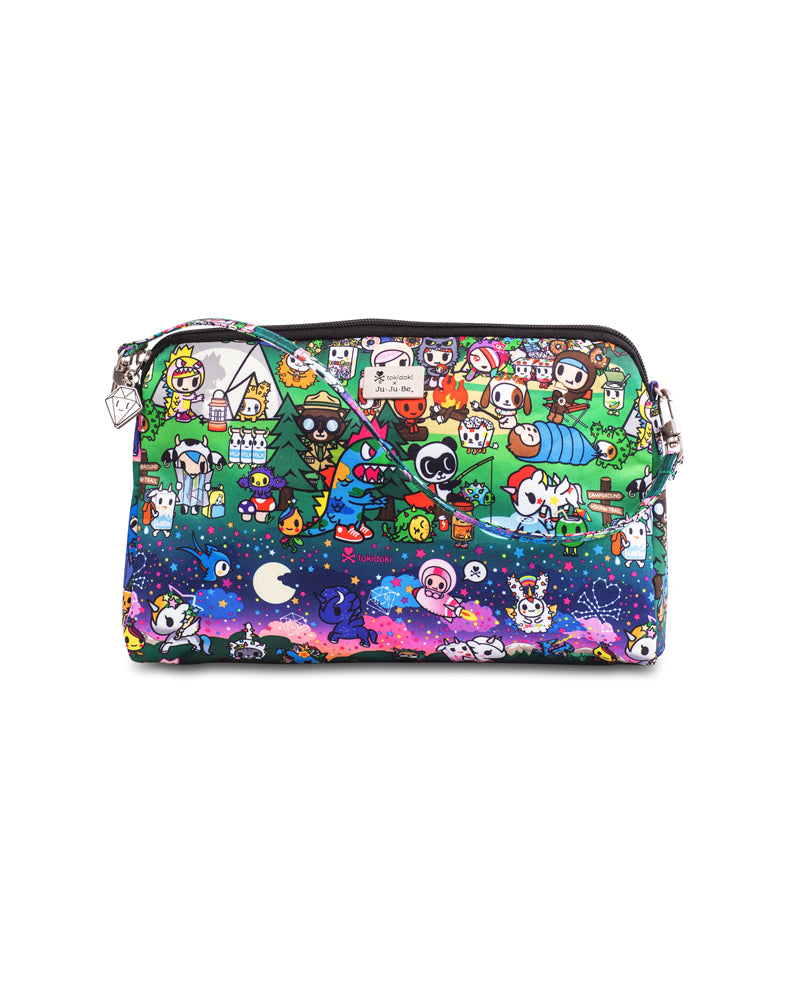 tokidoki x Ju-Ju-Be Be Quick Clutch Camp Toki Front