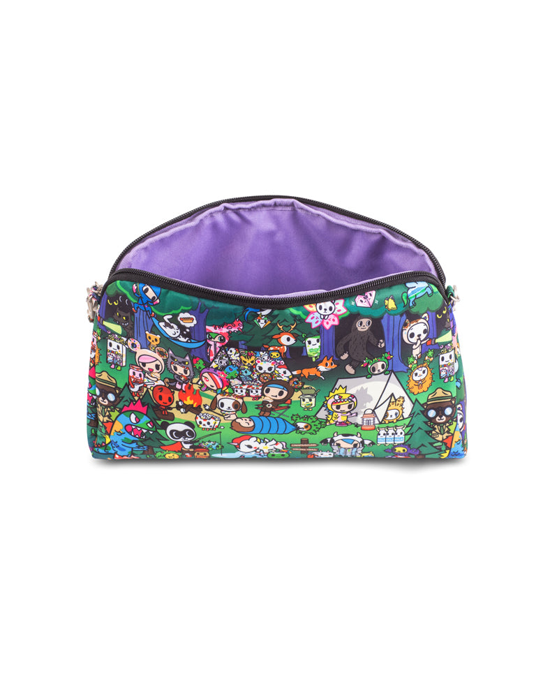 tokidoki x Ju-Ju-Be Be Quick Clutch Camp Toki Interior