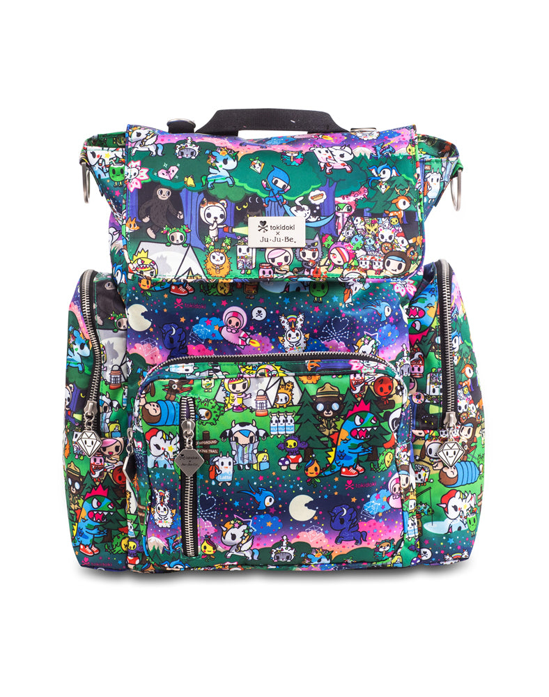 tokidoki x Ju-Ju-Be Be Sporty Camp Toki Front