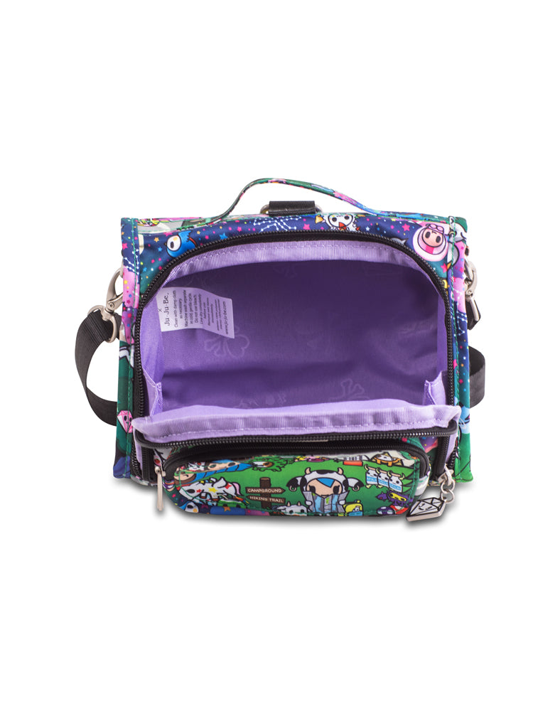 tokidoki x Ju-Ju-Be Mini B.F.F. Diaper Bag Camp Toki Interior