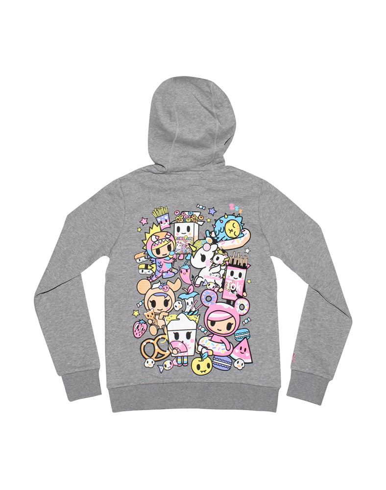tokidoki-Con Candy Party Hoodie Back