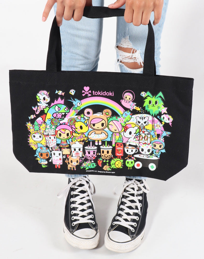 New SDCC 2019 Tokidoki Pink Reusable Recyclable Grocery Tote Bag