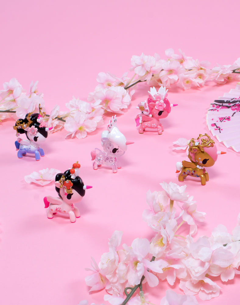 Cherry Blossom Unicorno Blind Box Lifestyle Shot