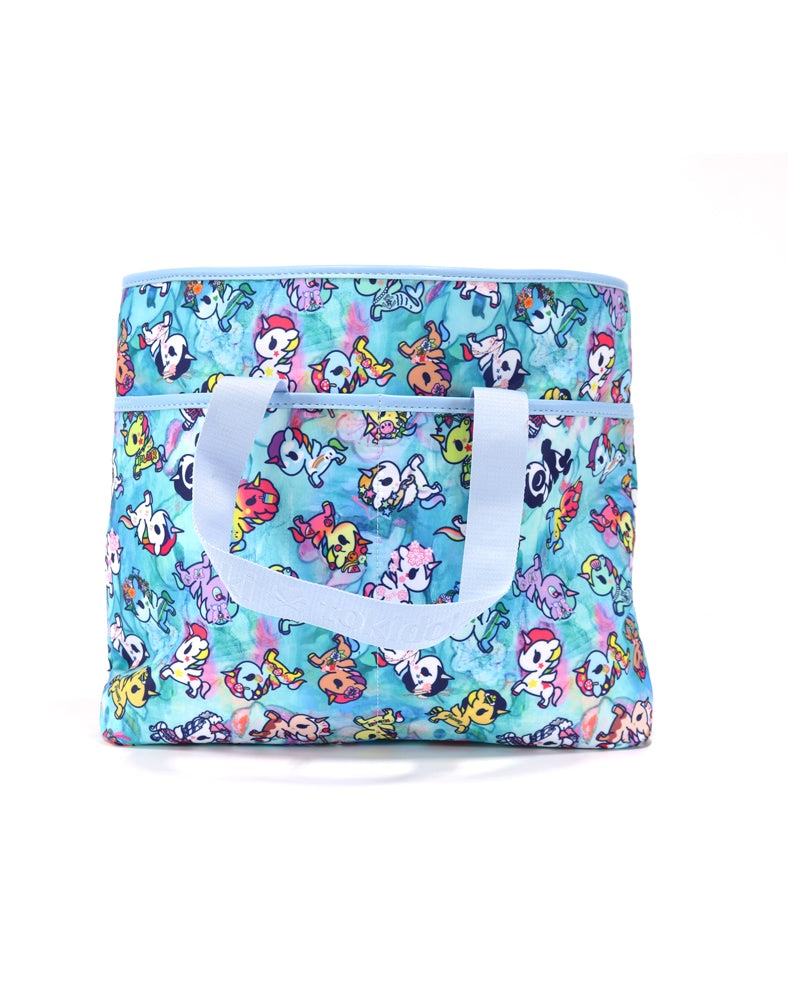 Watercolor Paradise Cinch Crossbody back