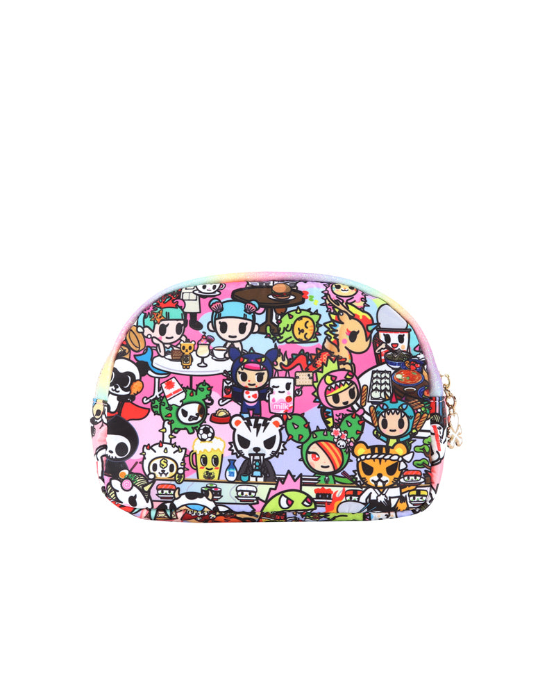 Toki Takeout Cosmetic Case back