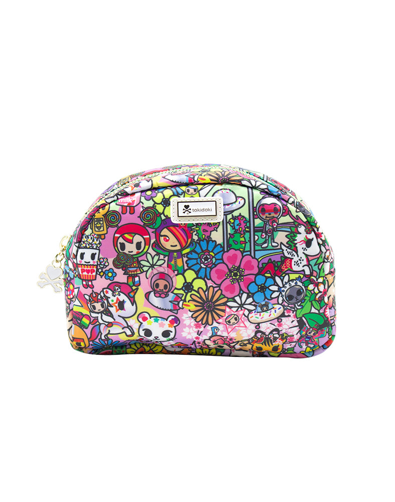tokidoki Flower Power Cosmetic Case Front