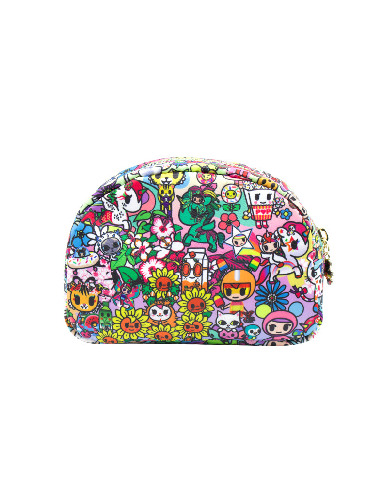 tokidoki Flower Power Cosmetic Case Back