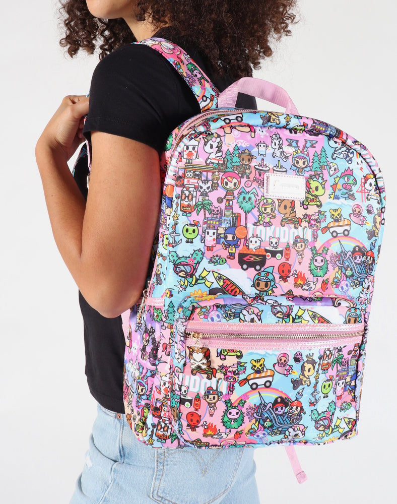 tokidoki-Con Cotton Candy Dreamin' Backpack Lifestyle