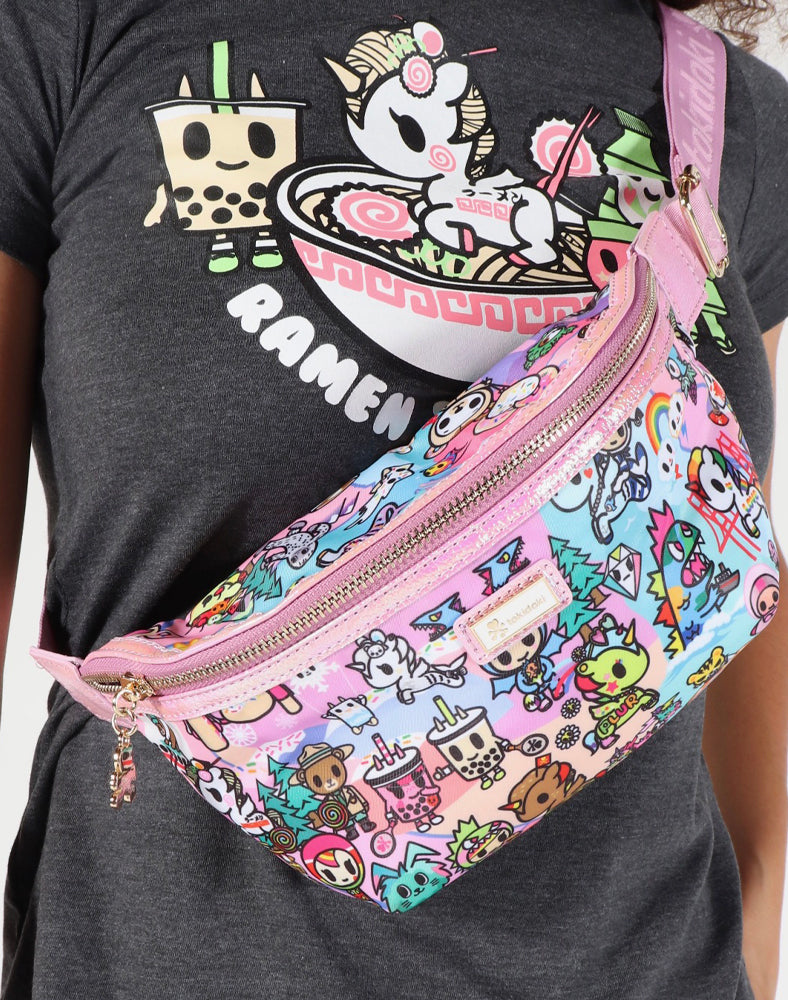 tokidoki-Con Cotton Candy Dreamin' Fanny Pack Lifestyle