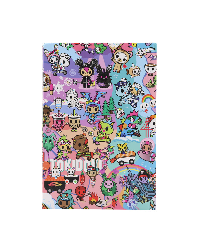 Cotton Candy Dreams Notebook back