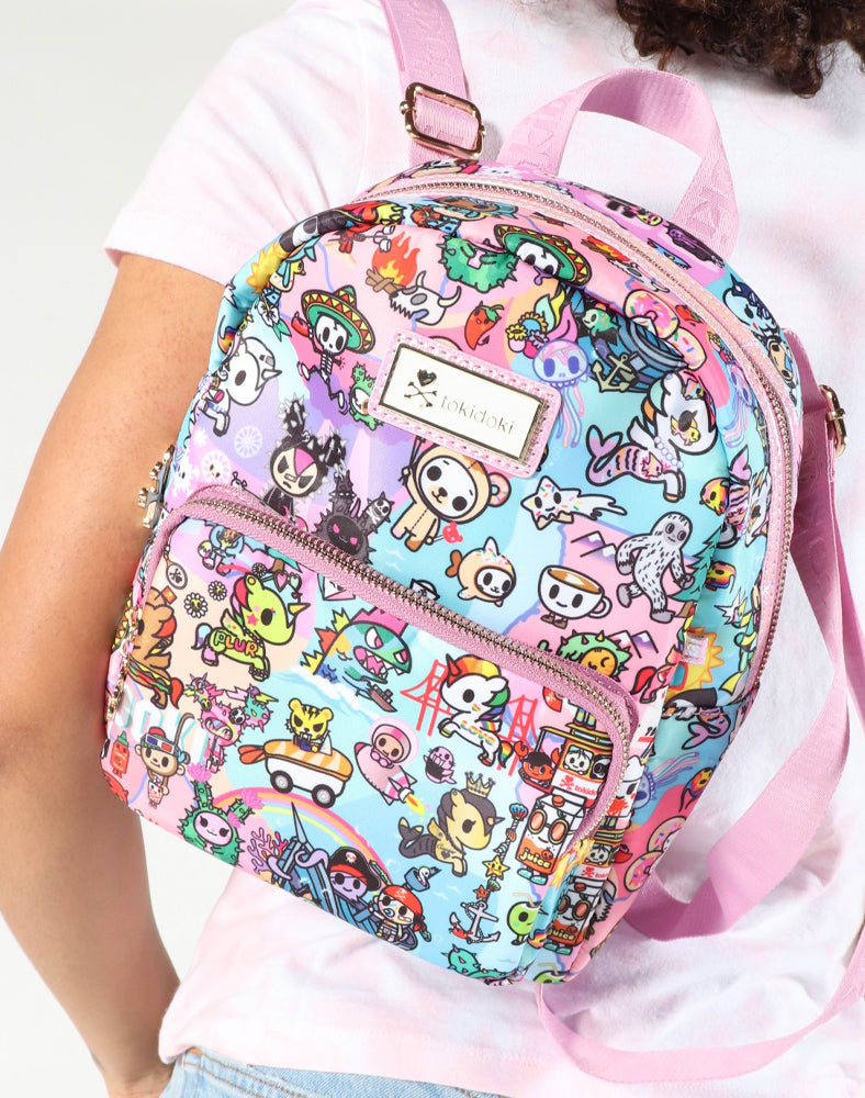 tokidoki-Con Cotton Candy Dreamin' Mini Backpack Lifestyle