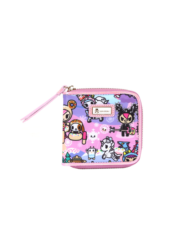 tokidoki-Con Cotton Candy Dreamin' Small Zip Around Wallet