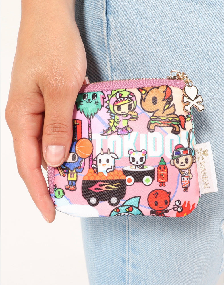 tokidoki-Con Cotton Candy Dreamin' Zip Coin Purse Lifestyle