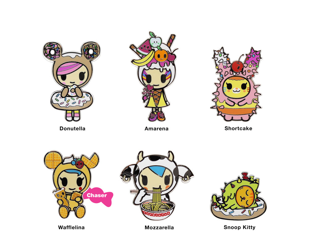 tokidoki-Con Cravings Collectible Enamel Pin Blind Box Roster