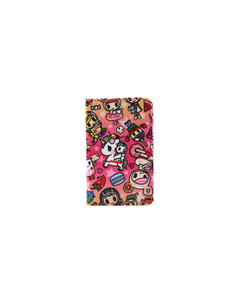 tokidoki-Con Cravings Small Bifold Wallet Front