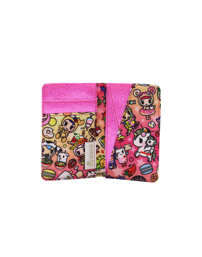 tokidoki-Con Cravings Small Bifold Wallet Interior