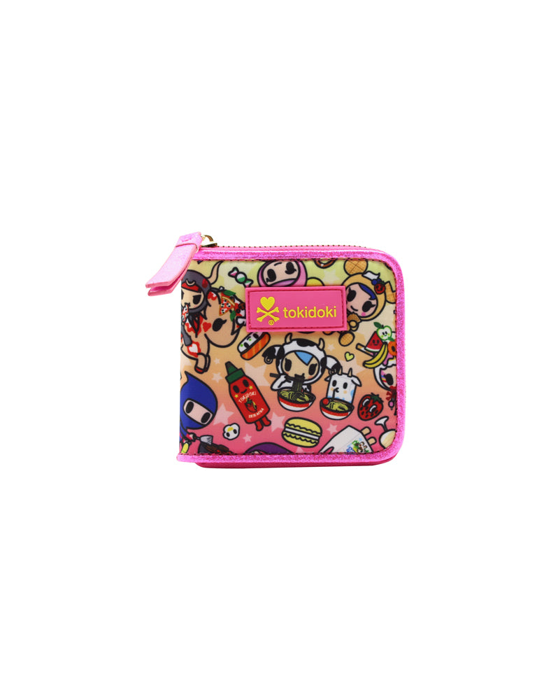 tokidoki-Con Cravings Small Zip Around Wallet Front