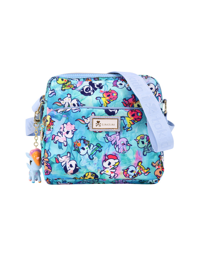 Watercolor Paradise Crossbody front