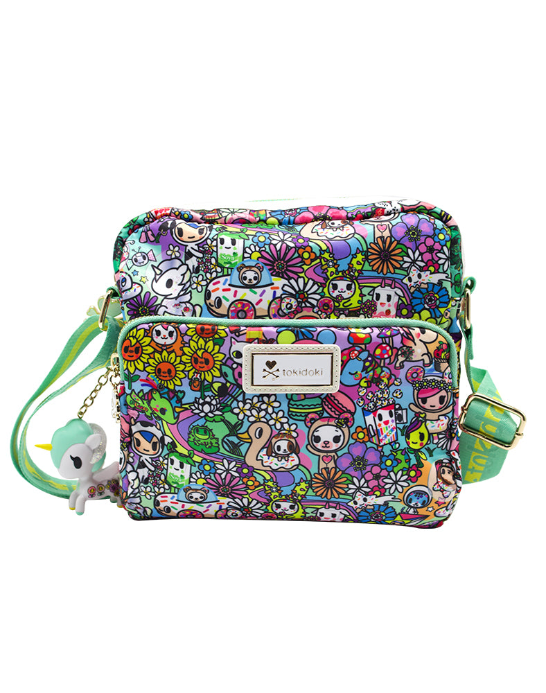 tokidoki Flower Power Crossbody Front
