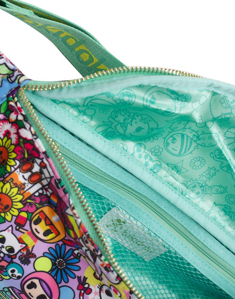 Flower Power Sling Bag Interior