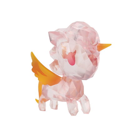Crystal Phoenix Sofubi Unicorno Single