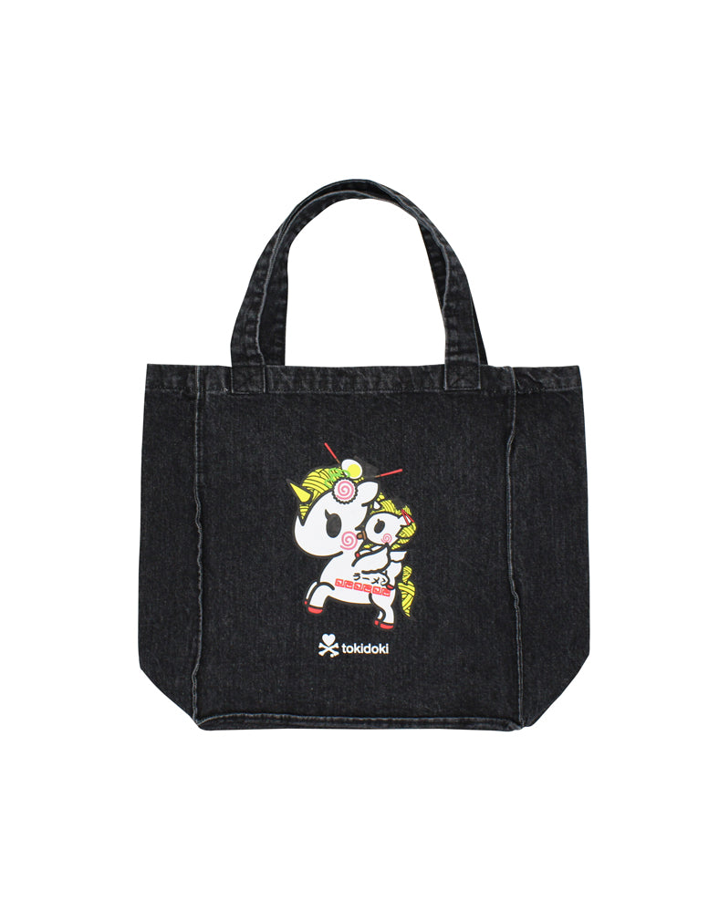 tokidoki-Con Cravings Denim Tote Side 2