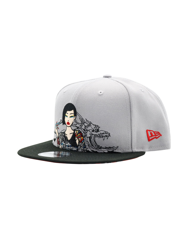 Diamond Chopsticks Snapback front side
