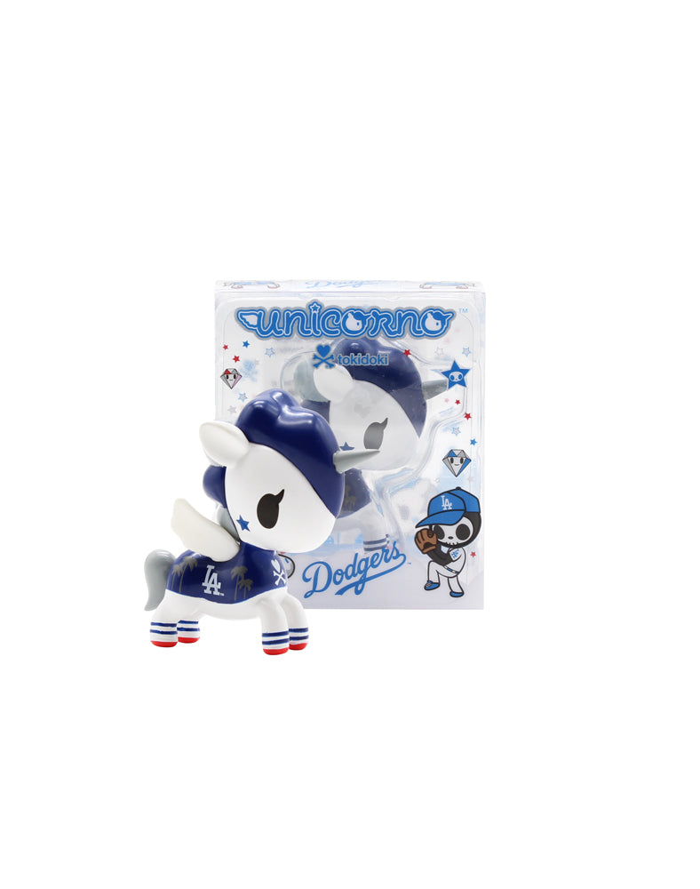 tokidoki x MLB Dodgers Unicorno (Online Exclusive) Packaging