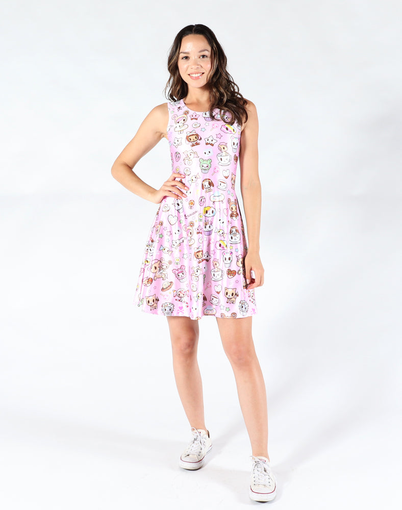 Donutella Skater Dress Front 1
