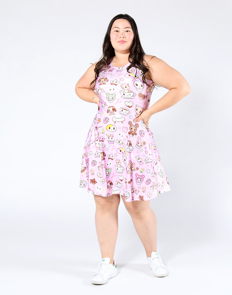 Donutella Skater Dress Front 2
