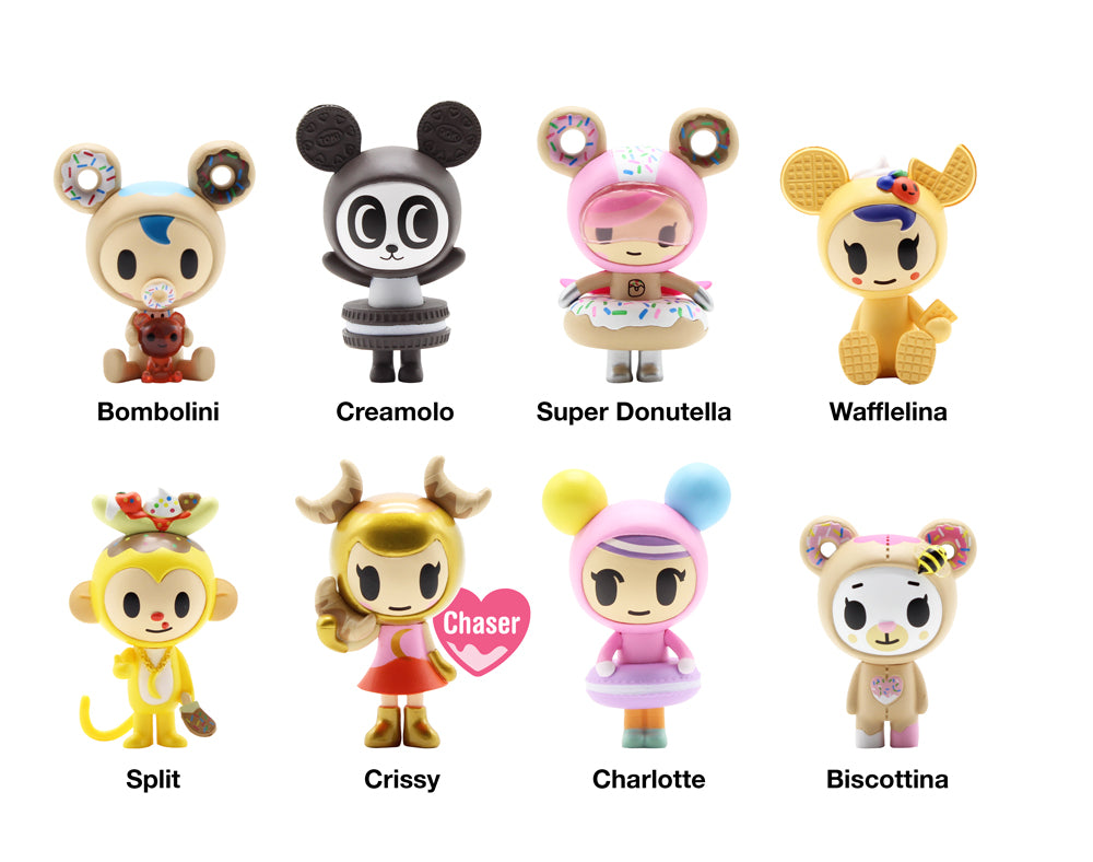 Donutella and her Sweet Friends Blind Box Mini Figures Series 3 Roster