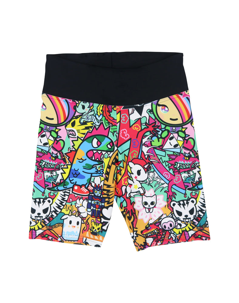 Dragon Bike Shorts