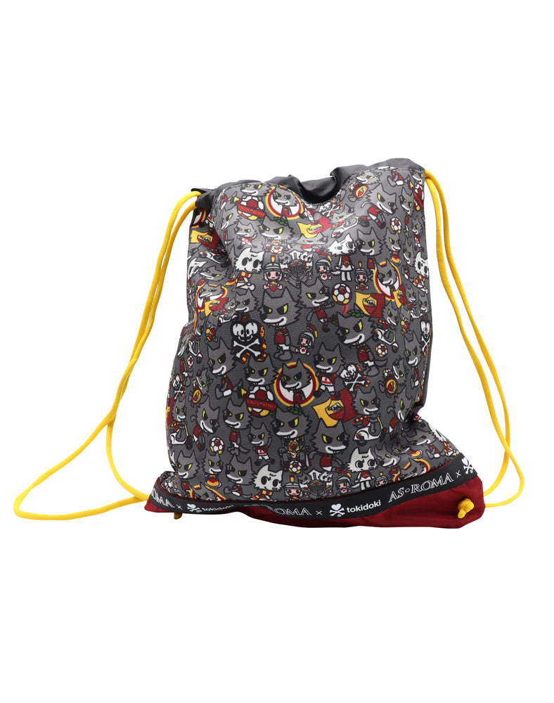 AS Roma x tokidoki Drawstring Bag Back