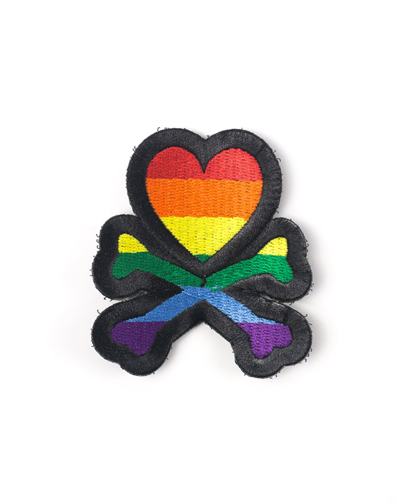 Rainbow Logo Patch