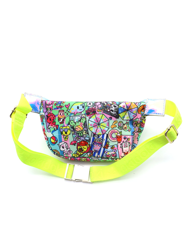 Pool Party Fanny Pack Back
