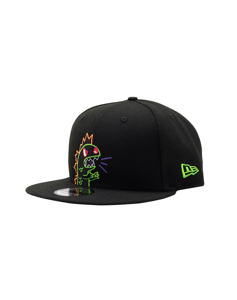 Flashing Kaiju Snapback Side