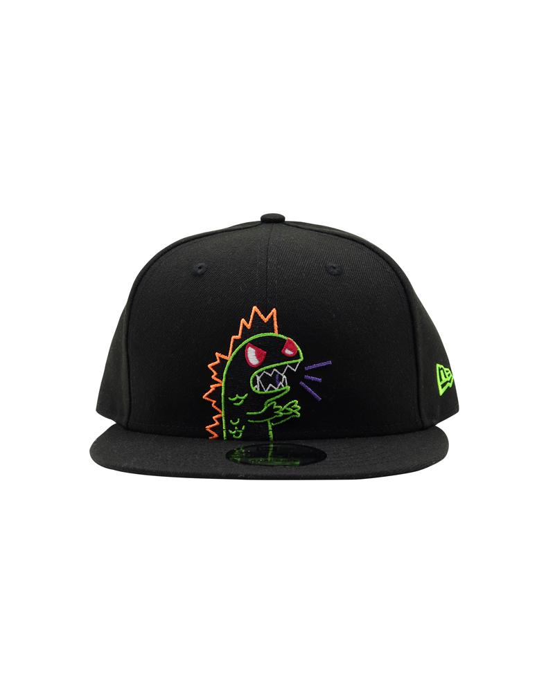 Flashing Kaiju Snapback Front View