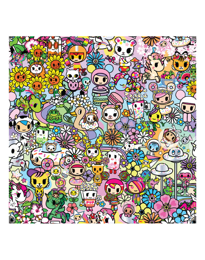 Flower Power Print Swatch
